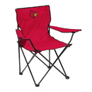 Louisville Cardinals Quad Chair - Logo Chair