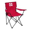 Nebraska Cornhuskers Quad Chair - Logo Chair