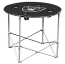 Oakland Raiders Round Tailgate Table