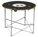 Pittsburgh Steelers Round Tailgate Table