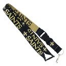 New Orleans Saints Lanyard - Reversible