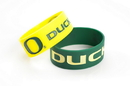 Oregon Ducks Bracelets - 2 Pack Wide