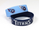 Tennessee Titans Bracelets - 2 Pack Wide