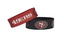 San Francisco 49ers Bracelets - 2 Pack Wide