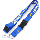 Los Angeles Chargers Lanyard Light Blue