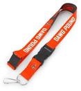 Cleveland Browns Lanyard Breakaway Style Slogan Design