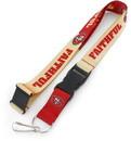 San Francisco 49ers Lanyard Breakaway Style Slogan Design - Special Order