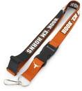 Texas Longhorns Lanyard Breakaway Style Slogan Design - Special Order