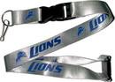 Detroit Lions Lanyard Gray