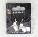 Los Angeles Chargers Earrings State Design Special Order