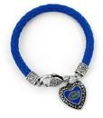 Florida Gators Bracelet Braided Charmed Blue - Special Order