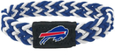 Buffalo Bills Bracelet Braided Blue and White
