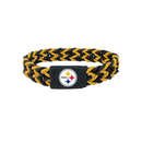 Pittsburgh Steelers Bracelet Braided Black and Yellow