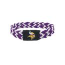 Minnesota Vikings Bracelet Braided Purple and White