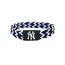 New York Yankees Bracelet Braided Navy and White