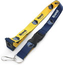 Memphis Grizzlies Lanyard Reversible Blue and Yellow