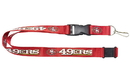 San Francisco 49ers Lanyard - Red
