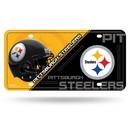 Pittsburgh Steelers License Plate Metal