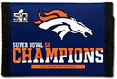 Super Bowl 50 Champion Nylon Trifold Wallet