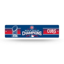 Chicago Cubs Street Sign - High-Res Plastic  - 2016 World Series Champs