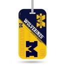 Michigan Wolverines Luggage Tag