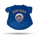 New York Mets Pet Tee Shirt Size S