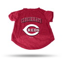 Cincinnati Reds Pet Tee Shirt Size L