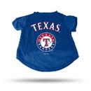 Texas Rangers Pet Tee Shirt Size L