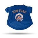 New York Mets Pet Tee Shirt Size XL