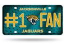 Jacksonville Jaguars License Plate #1 Fan