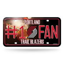 Portland Trail Blazers License Plate #1 Fan Special Order