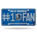 Dallas Mavericks License Plate #1 Fan Special Order