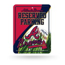 Atlanta Braves Sign Metal Parking Alternate Design