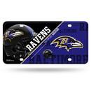 Baltimore Ravens License Plate Metal