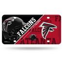 Atlanta Falcons License Plate Metal