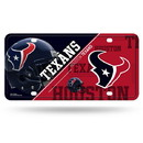 Houston Texans License Plate Metal