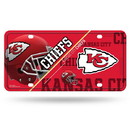 Kansas City Chiefs License Plate Metal