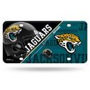 Jacksonville Jaguars License Plate Metal