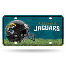 Jacksonville Jaguars License Plate #1 Fan Primary Logo