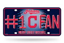 Cleveland Indians License Plate #1 Fan Alternate