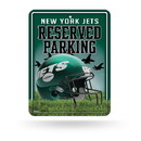 New York Jets Sign Metal Parking