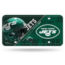 New York Jets License Plate Metal Alternate Design