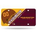 Washington Football Team License Plate Metal