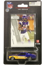 Minnesota Vikings Sidney Rice 1:64 Mustang with Trading Card