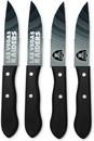 Las Vegas Raiders Knife Set Steak 4 Pack