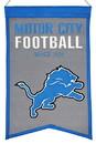 Detroit Lions Banner Wool Franchise