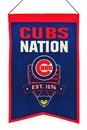 Chicago Cubs Banner Wool Nations