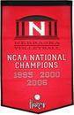 Nebraska Cornhuskers Banner 24x36 Wool Dynasty Volleyball