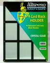 9 Card Holder Black