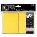 Deck Protectors - Pro Matte - Eclipse Yellow (8 packs per display)